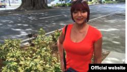 Ana Marrero, una transexual cubana que sufrió prisión en Cuba por ser homosexual.