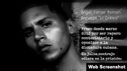 Campaña a favor de la libertad de rapero cubano Angel Yunier remón