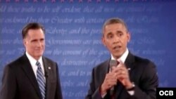 Segundo debate presidencial Obama vs. Romney