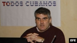 Carlos Payá hermano del fundador del proyecto Varela, Oswaldo Payá. EFE/Mondelo