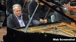 Frank Fernández, pianista cubano.Foto Archivo