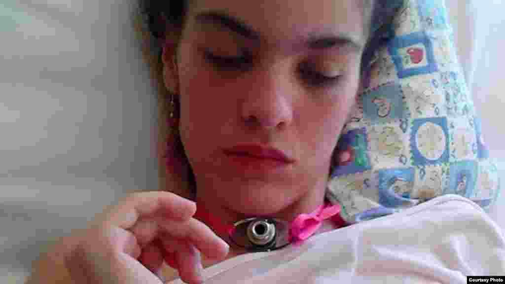 La joven actriz Patricia Ramírez permanece en estado vegetativo en un hospital cubano. (Foto Facebook)