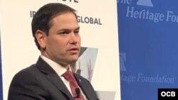 Rubio: Caída de Maduro sería un fuerte golpe para el gobierno cubano
