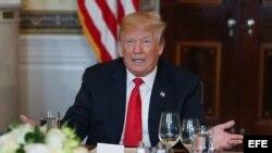 Presidente Trump recibe a Gobernadores en la Casa Blanca