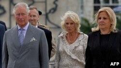 Principe Carlos y su esposa Camilla de visita en Cuba