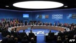 Reunión de países de la OTAN.