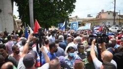Joven arrestado en San Antonio de los baños por filmar las protestas desde su casa