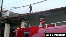 Sofocan incendio en Pinar del Río tras el acto por el 26 de julio