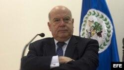 Archivo - José Miguel Insulza secretario general de la OEA.