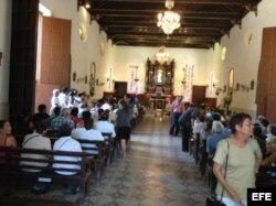 Parroquia El Salvador del Mundo donde realizarán los servicios fúnebres de Oswaldo Payá