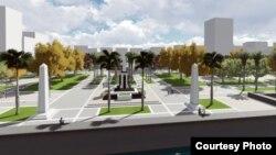Urbanistas proponen este cambio en el paisaje del Malecón, zona de El Vedado (foto John H. Pilling).