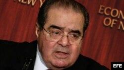 El juez de la Corte Suprema de EEUU, Antonin Scalia.