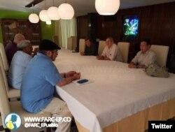 Líderes de las FARC y el ELN dialogan en Cuba en busca de un acuerdo de Paz (Foto: Archivo).