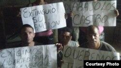 Activistas apoyan a Jorge Vázquez Chaviano