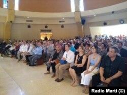 Misa en la Ermita de la Caridad de Miami, en memoria de Ricardo Bofill Pagés, el 21 de julio de 2019