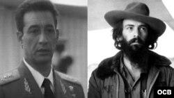 El general Arnaldo Ochoa y el comandante Camilo Cienfuegos.