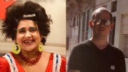 Magdalena de Cuba conversa con el director Adonis Milán
