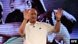 El director técnico de la selección brasileña de fútbol, Luiz Felipe Scolari.