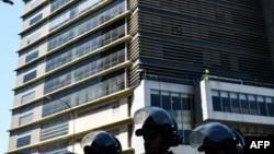 La sede del SEBIN en Caracas.