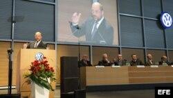 Preocupado Parlamento Europeo por situación en Italia