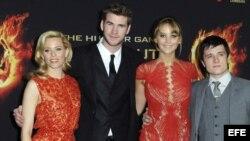 """La película """"The Hunger Games"""" dominó de forma incontestable la taquilla norteamericana por varias semanas."""