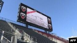 El Audi Field es el estadio del equipo DC United de la Major League Soccer, con capacidad para 20,000 personas.