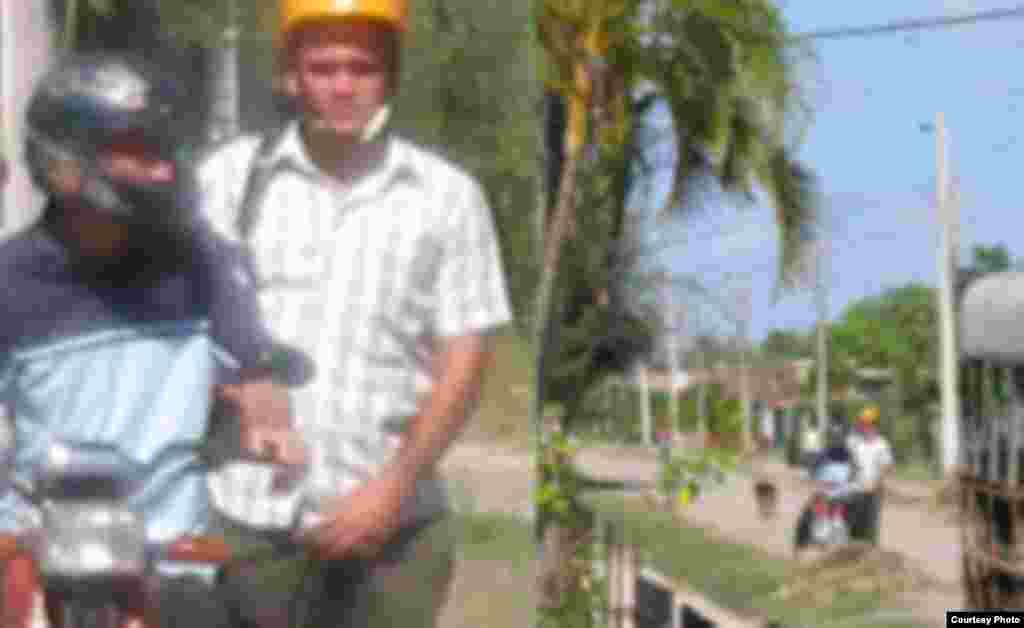 Oficiales de la Seguridad del Estado en Santa Cruz del Sur, Camagüey.