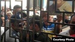 Plantón en Gibara y Holguín para exigir libertad de activistas