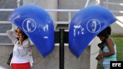Cabinas telefónicas instaladas por ETECSA