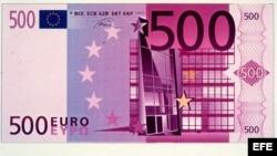Euro 500 billete
