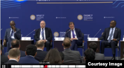 Forum de economía en San Petersburgo
