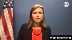 Emily Mendrala, subsecretaria adjunta para asuntos del Hemisferio Occidental del Departamento de Estado.