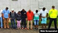 Banda Los Coyotes dedicada al tráfico humano, detenida en Colombia
