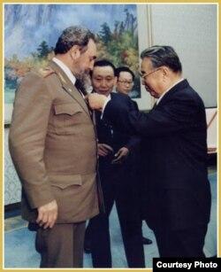 Fidel Castro en Corea del Norte (1986)