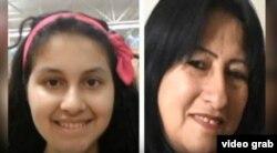 Elizabeth Rodriguez Rubio y su nieta Angie Caroline, víctimas del expolicía cubano Hareton Jaime Rodríguez Sariol