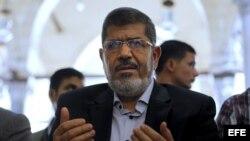 Moris, nuevo presidente de Egipto