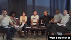 Reporta Cuba. El Foro por Derechos y Libertades se reúne en La Habana.