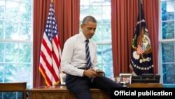 Barack Obama en la Casa Blanca.