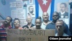 Reporta Cuba. Homenaje a Diaz-Balart en Matanzas.