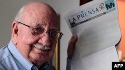 Jaime Chamorro Cardenal, presidente de Editorial La Prensa, de Nicaragua.