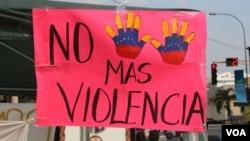 Clima de violencia agobia a venezolanos