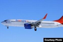 Un avión como el de la foto con destino a Varadero tuvo que regresar a Toronto.