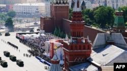 Desfile en Moscú por el 75 aniversario del Día de la Victoria