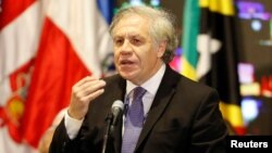 El secretario general de la OEA, Luis Almagro.