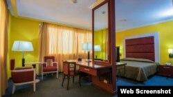 Una habitación del Four Points by Sheraton en La Habana.