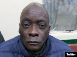 Idalberto Delgado Baró, uno de los cubanos detenidos en Bolivia.
