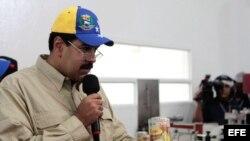 El vicepresidente venezolano, Nicolás Maduro.
