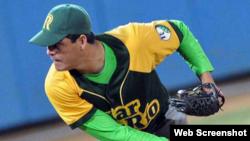 El lanzador cubano Yosvani Torres.
