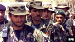 Subversivos de la guerrilla comunista de las FARC.