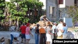 Reporta Cuba. Compras de materia prima a la población.